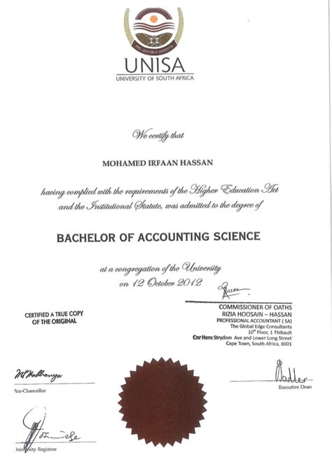bcompt accounting degree certified