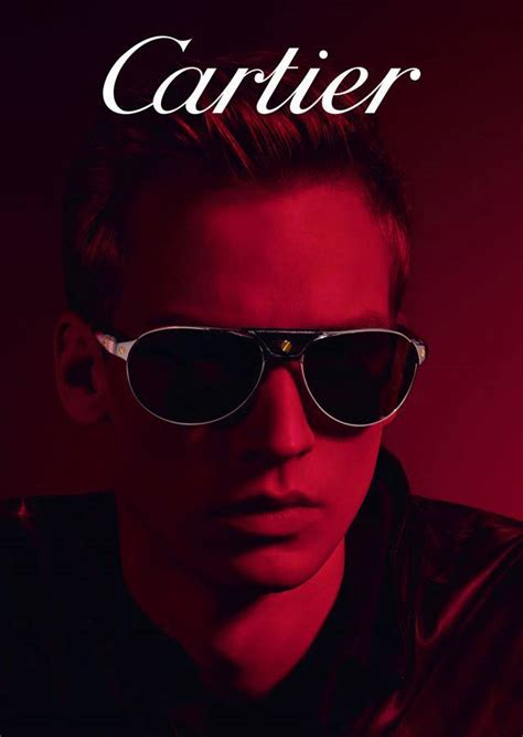 cartier eyewear fw campaign amsterdam fashion tv