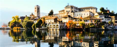 The Italian Village Of Orta San Giulio Novara In Piemonte