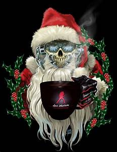Evil Santa Santa muerte, Christmas horror movies and Heavy