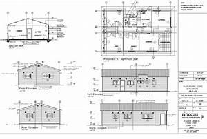 Plan Elevation Front Duplex House Plans