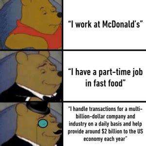 work  mcdonalds    part time job  fast food