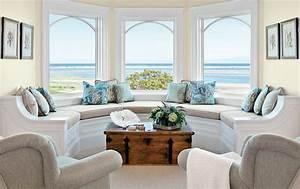 Beautiful Beach Themed Living Room Ideas – small coastal