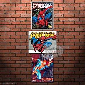 Decorating with spider man wall decor for Kitchen cabinets lowes with marvel superhero wall art