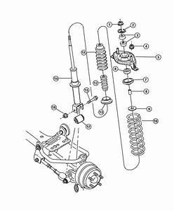 Dodge Stratus Shock Absorber  Suspension  Rear