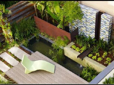 Contemporary Garden Design Ideas Youtube