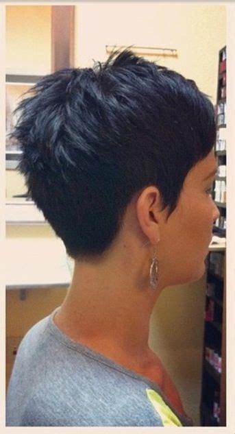 back view of pixie haircuts die besten 25 kurzhaarfrisuren trotz wirbel ideen auf 2879