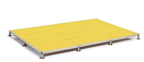 pedane modulari azienda mario orlando prezzi pedane modulari in alluminio
