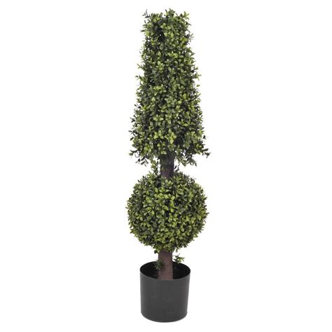 Artificial Boxwood Ball and Cone Topiary – House of Silk