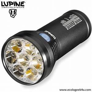 Lampe Torche Led Ultra Puissante : lampe torche lupine betty tl2 4500 lumens rechargeable ~ Melissatoandfro.com Idées de Décoration