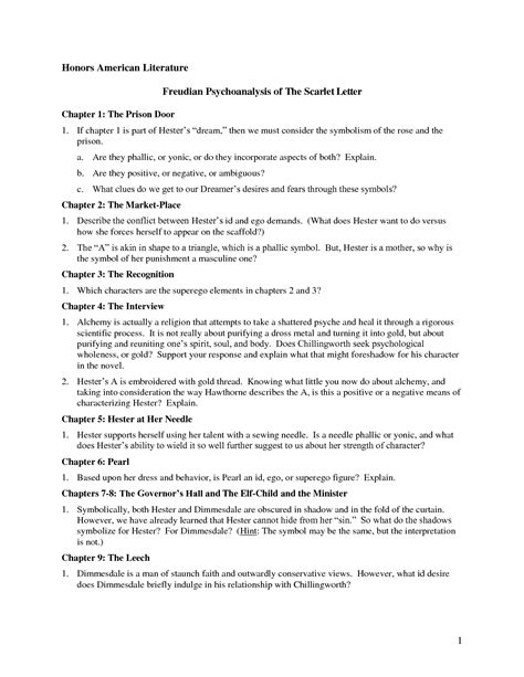 Scarlet Letter Quotes 2