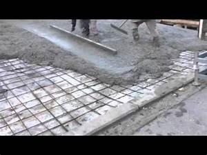 Comment Faire Du Beton : tirage du b ton rampe youtube ~ Melissatoandfro.com Idées de Décoration