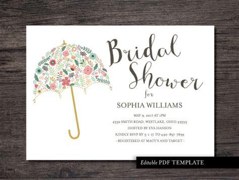 23+ Bridal Shower Invitation Templates  Free Psd, Vector