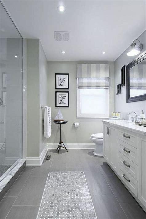 awesome farmhouse bathroom tile floor decor ideas