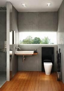 Holz Für Badezimmer : minimalistische badezimmer ideen mit auff lliger sthetik ~ Frokenaadalensverden.com Haus und Dekorationen