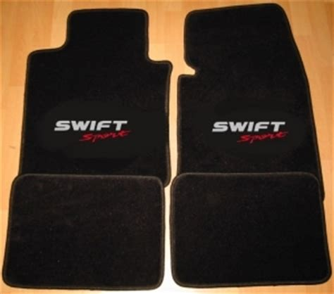 jeu de tapis suzuki sport 2011 4 pieces gamme script bicolor