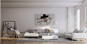 Tasteful living rooms