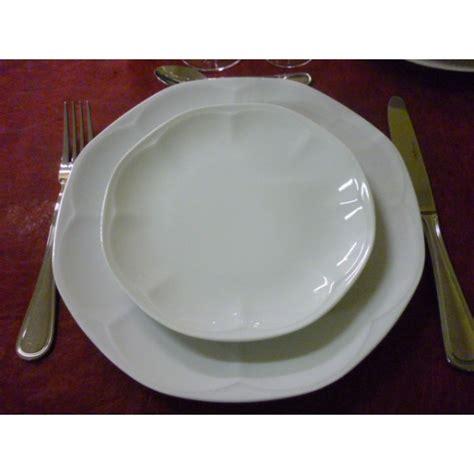 service de table porcelaine blanche ziloo fr