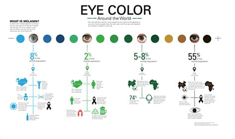Eye Color Around The World On Behance