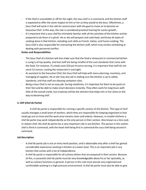 Faisal Memon Resume Builder by Executive Chef Description Chef Duties Chef Resume Templates Chef Resume