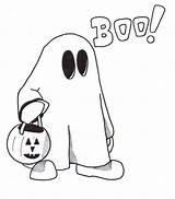 Ghost Coloring Pages Printable Halloween Clipart Cartoon Drawing Drawings Children Sheet Cliparts Clip Holy Clipartmag Scary Library Popular Outline Everfreecoloring sketch template