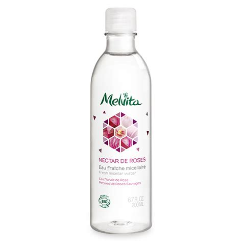 eau de toilette melvita eau micellaire bio nectar de roses melvita