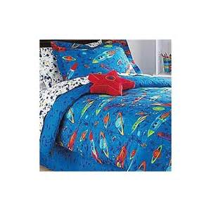 amazon com 8pc outer space bedding set planets rockets bed in a bag full size