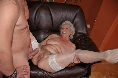 Grandma Getting Mature Trouser