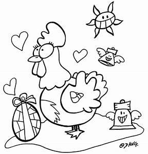 Dessin A Imprimer De Paques : dessin de paques lapin a imprimer ~ Melissatoandfro.com Idées de Décoration