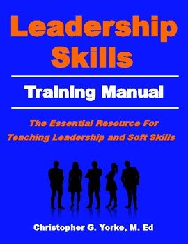 leadership skills training manual  chris yorke tpt
