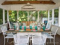 screened porch decorating ideas New Screened Porch Dreams - Finding Home Farms