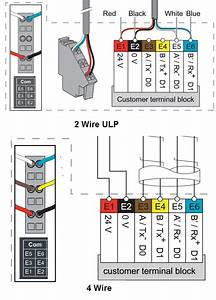 Communication Wiring On A Masterpact Fix Mount Breaker