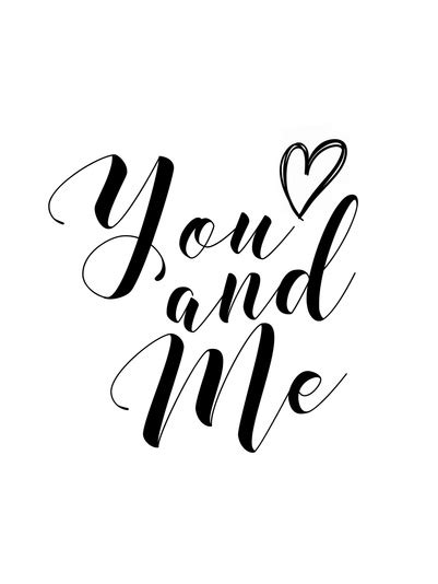you and me branco