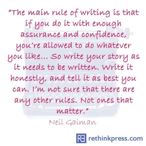 neil gaiman quotes writing quotesgram