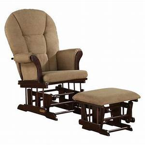 Shermag Alexis Glider Rocker and Ottoman Combo | After ...