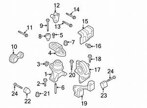 Ford Fusion Engine Support Rod  Liter  Strut  Awd