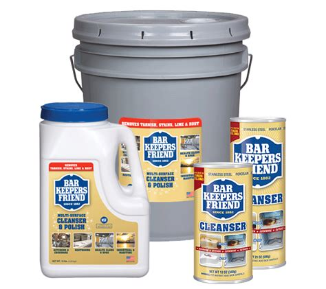 bkf institutional cleanser institutional bar keepers friend