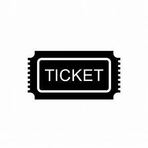 Collection of ticket icons free download