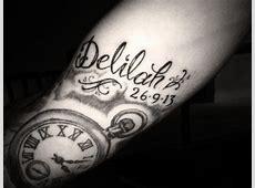 Tatouage Horloge Date De Naissance Tattooart Hd