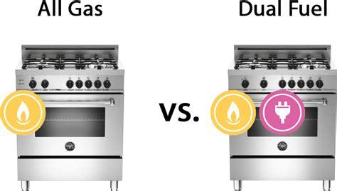gas  dual fuel ranges