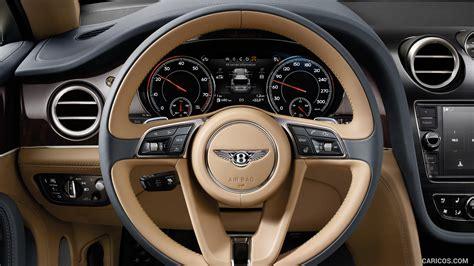 bentley steering wheel 2017 bentley bentayga interior steering wheel hd