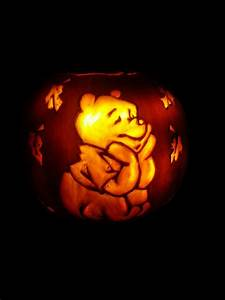 winnie the pooh pumpkin halloween by shineydays on deviantart With winnie the pooh pumpkin carving templates