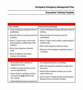 Emergency response plan template figure cont emergency for Emergency response plan template for small business
