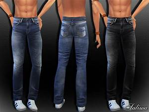 Men Realistic Jeans by Saliwa at TSR » Sims 4 Updates