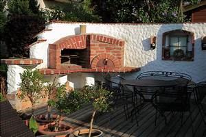 steinbackofen pizzaofen brotbackofen holzbackofen f r With französischer balkon mit pizza steinbackofen garten