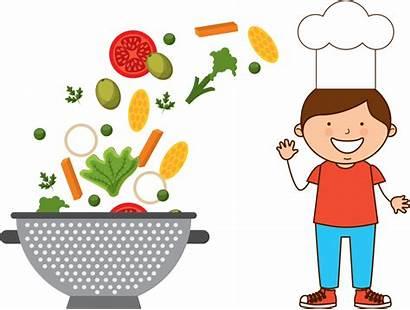 Clipart Cook Chef Junior Cooking Children Classes