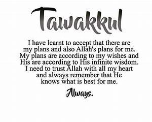Pin by Kehakash... Allah Tawakkul Quotes