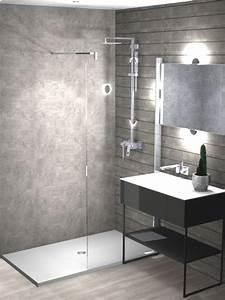 Plan Petite Salle D Eau : projet de salle d 39 eau en 3d franceschini ~ Dallasstarsshop.com Idées de Décoration
