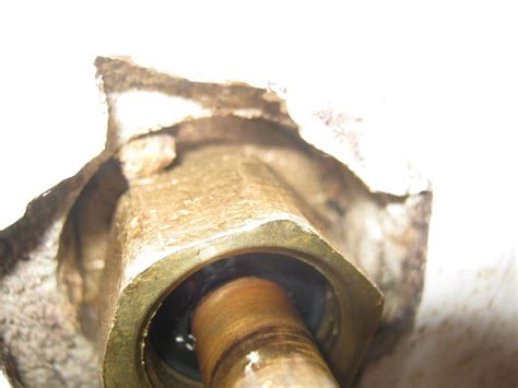 hot water faucet leaking in the bathtub