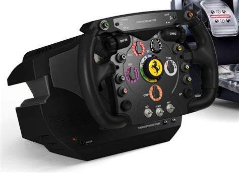 thrustmaster ferrari  wheel integral  photo
